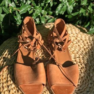 Paul Green🍁🍂Lace up Sandals size 9.5